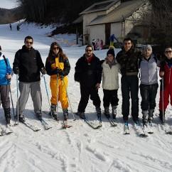 Étape saint thomas - Ski à Chabottes